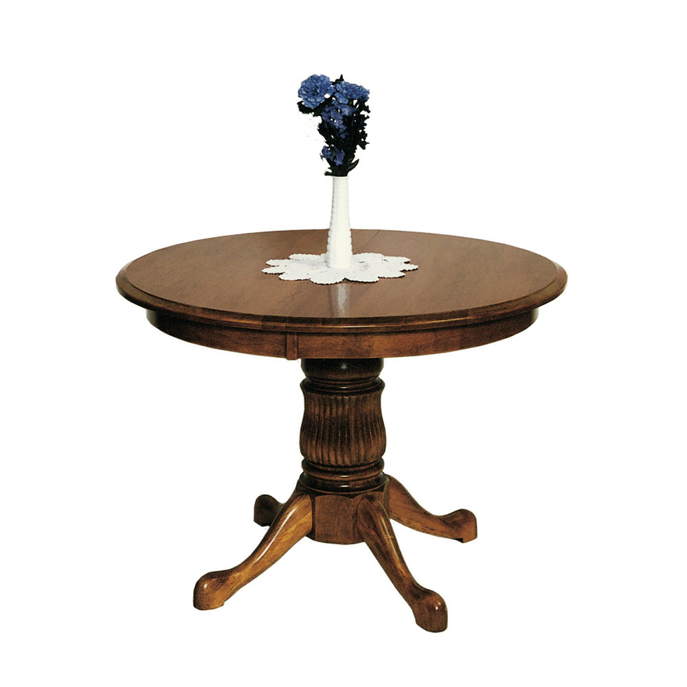 Penns Creek Round End Single Pedestal Table    Starting at: $1,937.99
