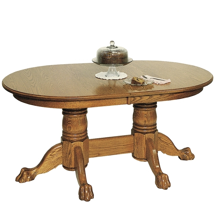 Penns Creek 42 x 66 Round End Double Pedestal Table    Starting at: $2,529.99