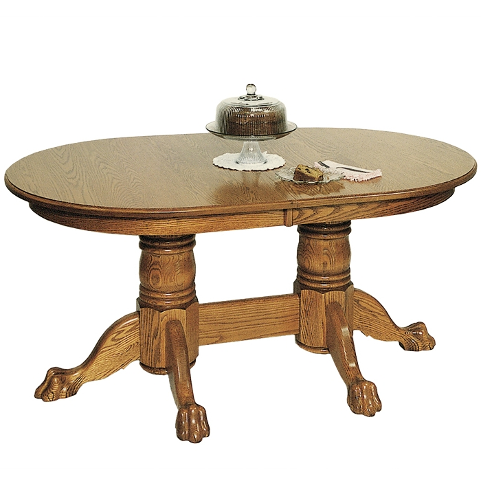 Penns Creek 46 x 72 Round End Double Pedestal Table    Starting at: $3,209.99