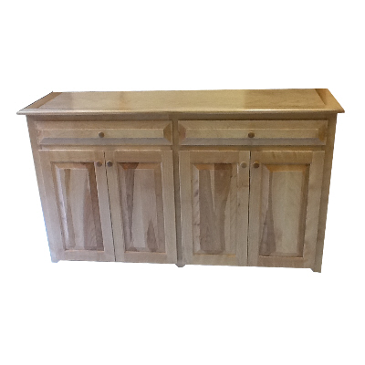 Cabinet - Berkshire - Classic Wide Low Cabinet with 2 Drawers - Finished.jpg
