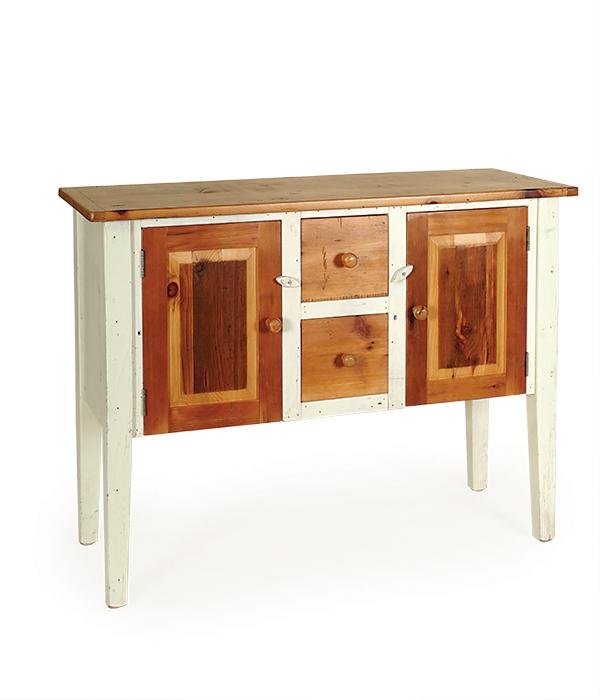 Barnwood - Penns Creek - Barnwood Buffet with 2 drawers and 2 doors - Finished.jpg