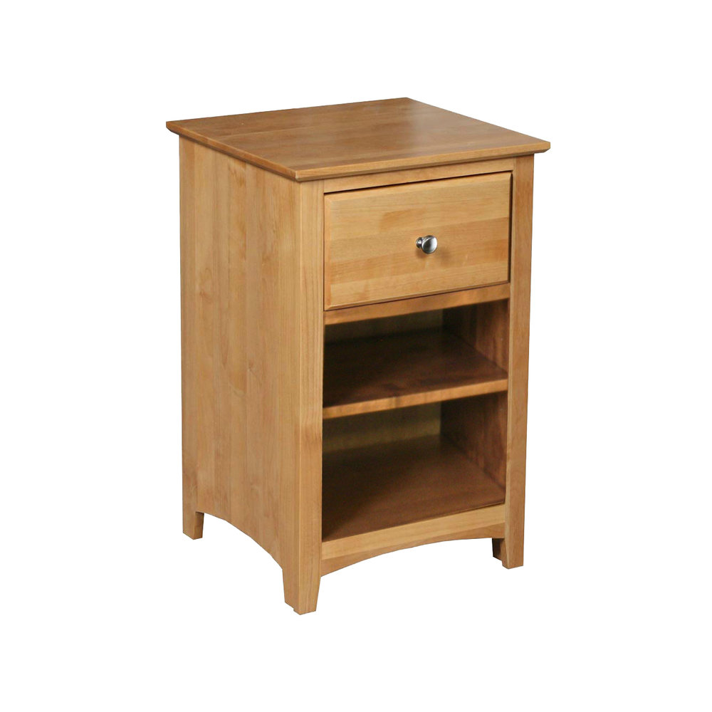 Archbold Shaker 1 Drawer Nightstand    Starting at: $364.99