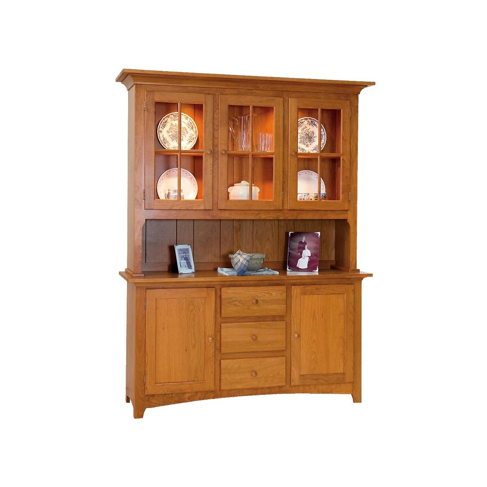 china hutch - penns creek - penn valley shaker large china hutch - cupboard and sideboard - finished.jpg