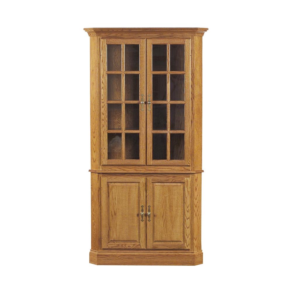 corner china cabinet - penns creek - colonial corner cupboard - finished.jpg