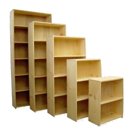 Bookcases - Evergreen - 11.25_d Pine Bookcases - Unfinished.jpg