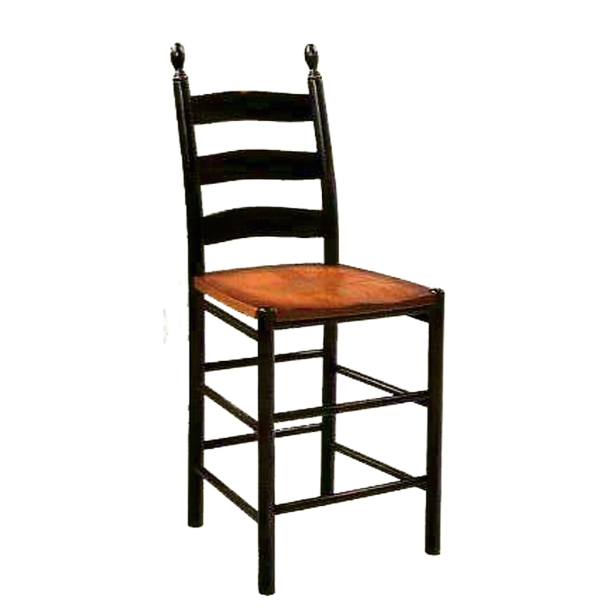 Penns Creek Shaker Ladder Back Stool    starting at: $
