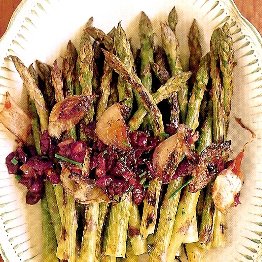 Grilled Asparagus with Roasted Shallots and Cranberry Vinaigrette.jpg