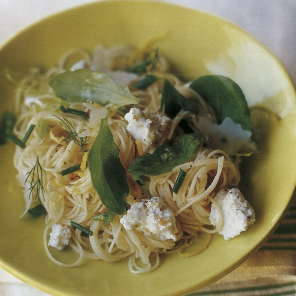 capellini with fresh ricotta cheese and mixed herbs copy.jpg