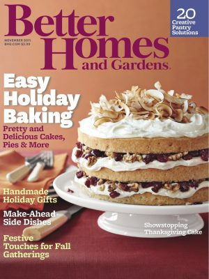Better Homes and Gardens, November 2011 -