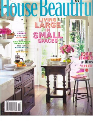 House Beautiful, July 2011 -