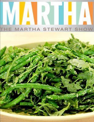 Martha – Arugula Pesto Snap Beans -