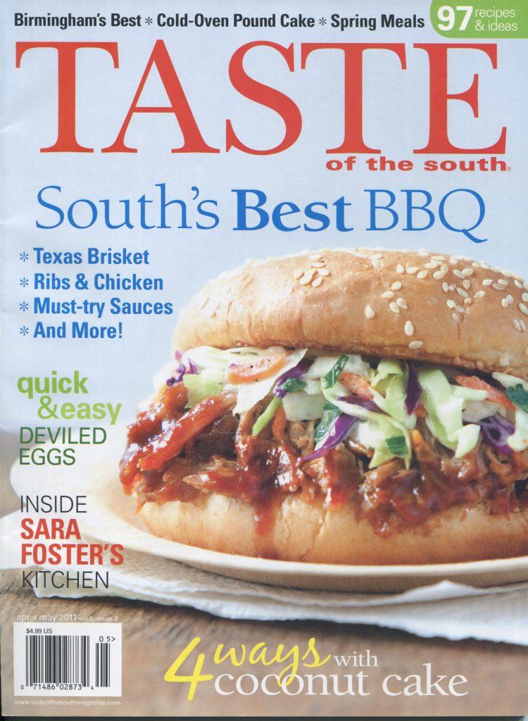 Taste, May 2011 -