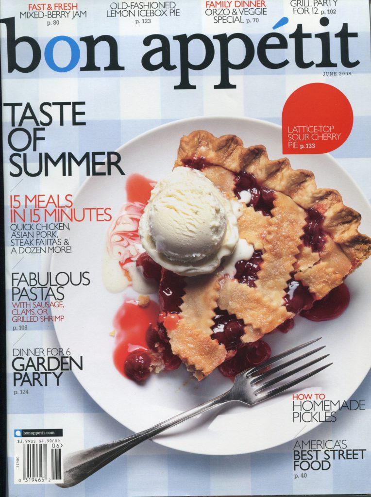 Bon Appetit, June 2008 -
