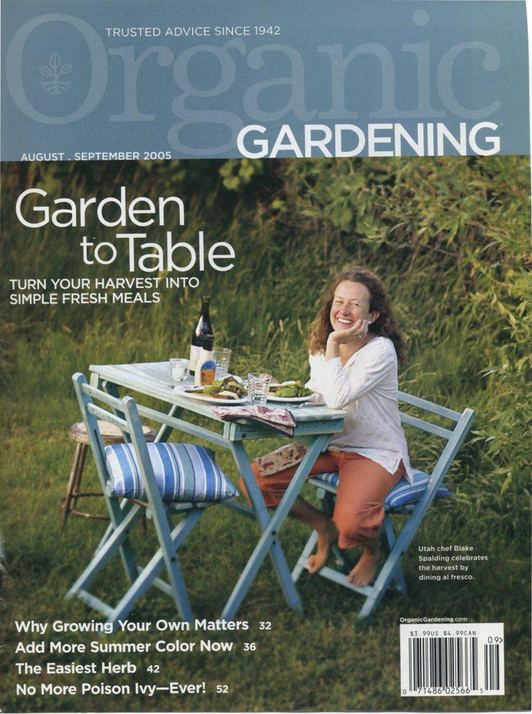 Organic Gardening, September 2005 -