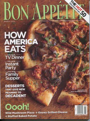 Bon Appetit, March 2005 -