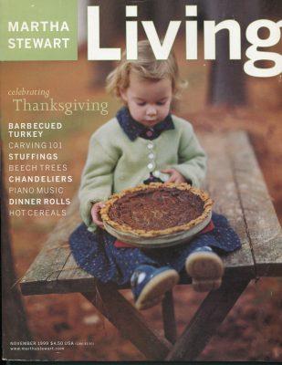 Martha Stewart Living, November 1999 -
