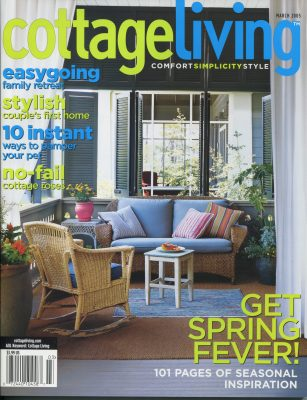 Cottage Living, March 2005 -