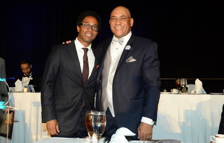 Wesley Bell & Pastor Freddy Clark of Shalom Church