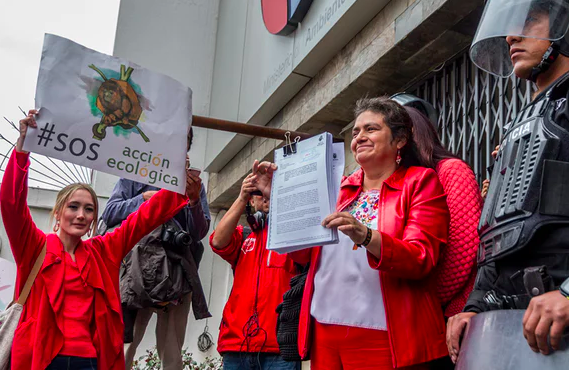 The Guardian - Ecuador's leading environmental group fights to stop forced closure
