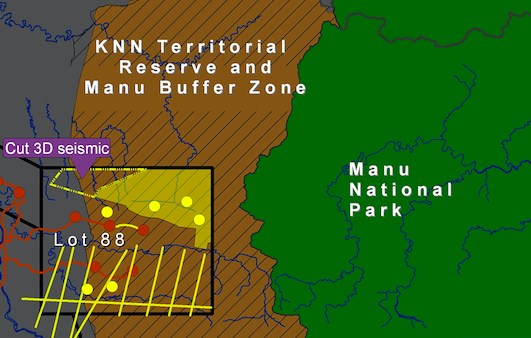 Mongabay - Gas company to drill in Manu national park buffer zone