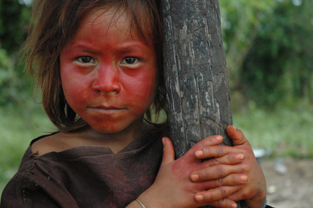 An Ashéninka girl on the upper River Yurúa, Peru. The Ashéninka are one of more than 60 indigenous peoples in Peru. Credit: David Hill/Survival
