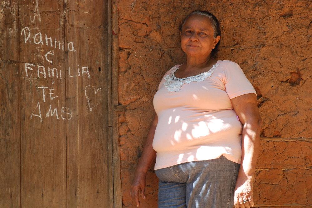 Emilia Alves da Silva Rodrigues, a 'babassu breaker' in north-east Brazil. Credit: David Hill
