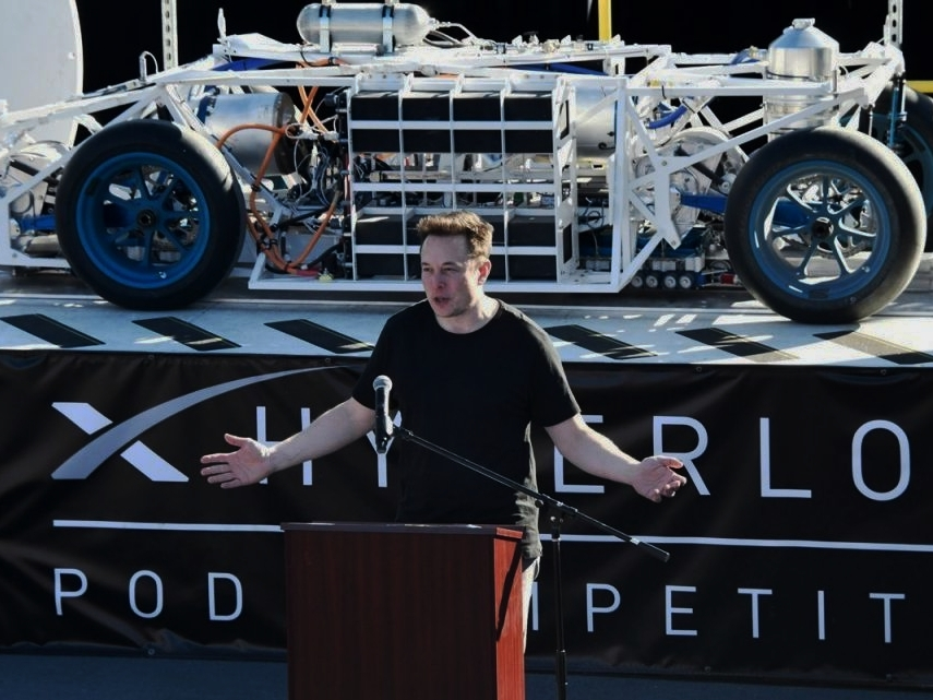 SpaceX Hyperloop pod competition -