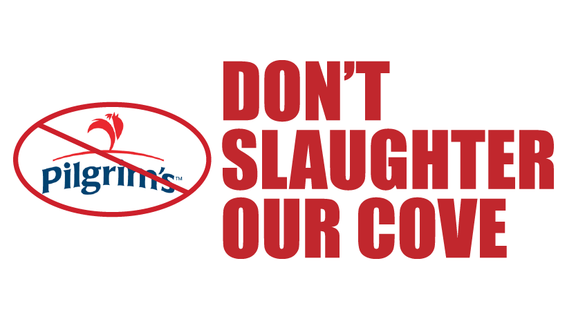 Don't Slaughter Our Cove