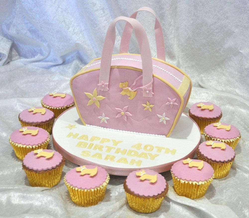 Radley Style Handbag Birthday Cake Cakeadelic