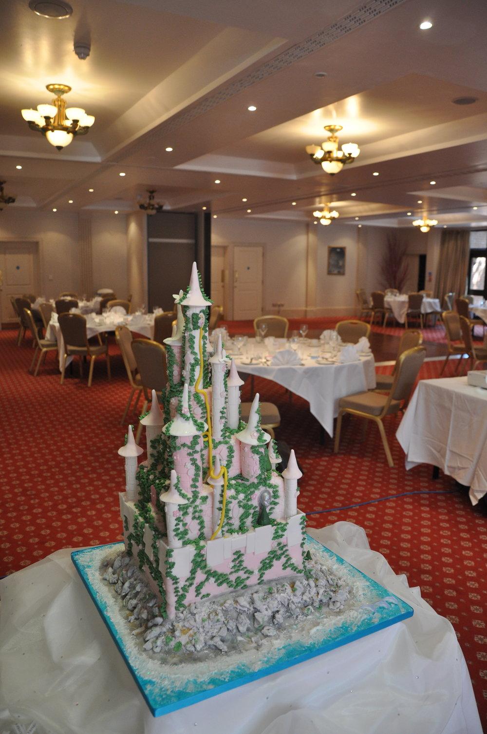 2012-06-30 Disney Princess Castle Cake 03.JPG