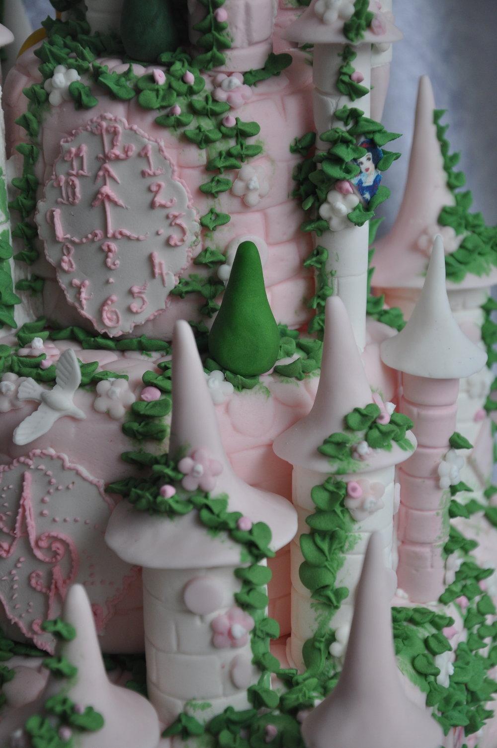 2012-06-30 Disney Princess Castle Cake 15.JPG