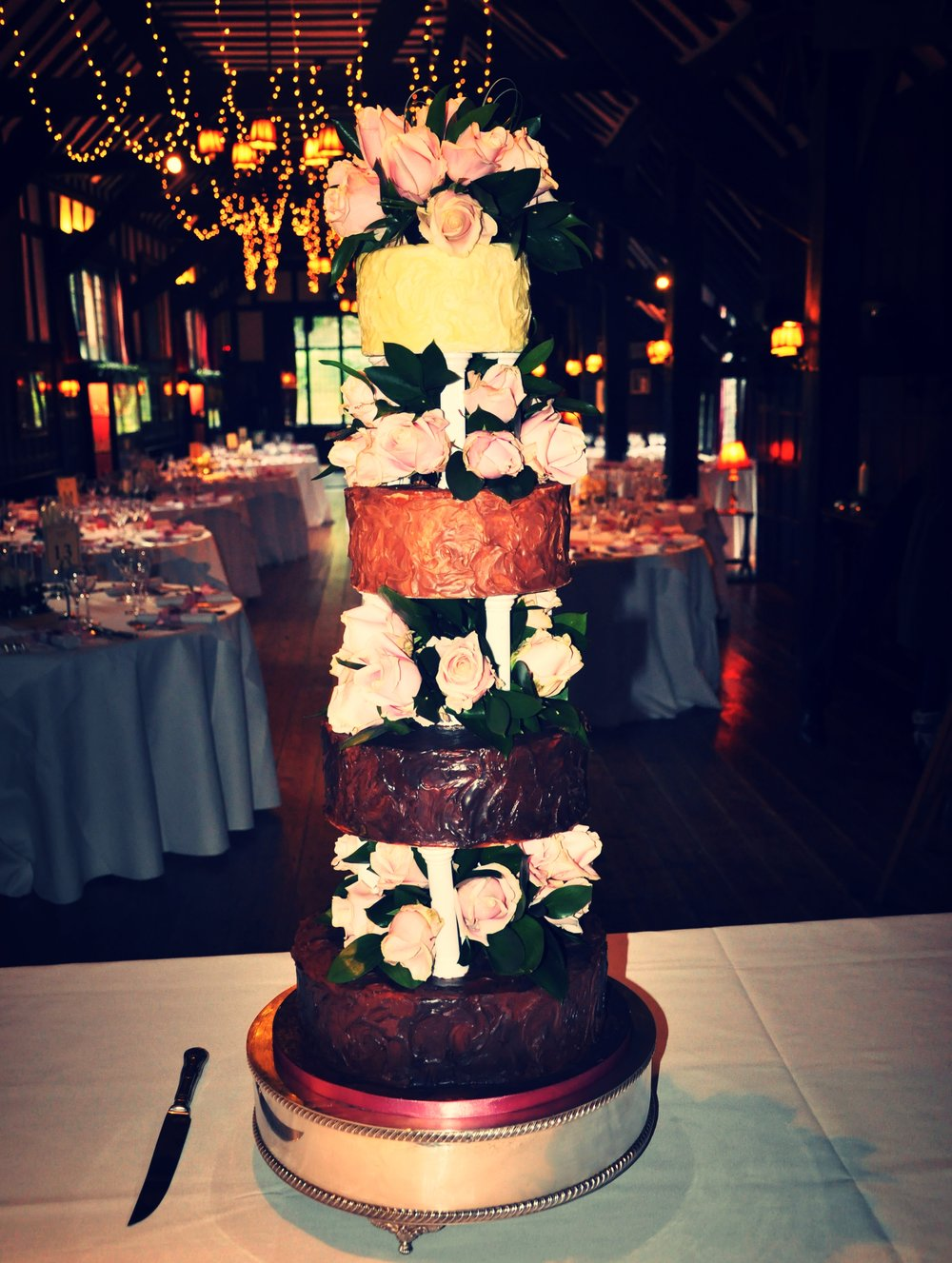 2012-12-09 Chocolate Ganache Wedding Cake-9.JPG
