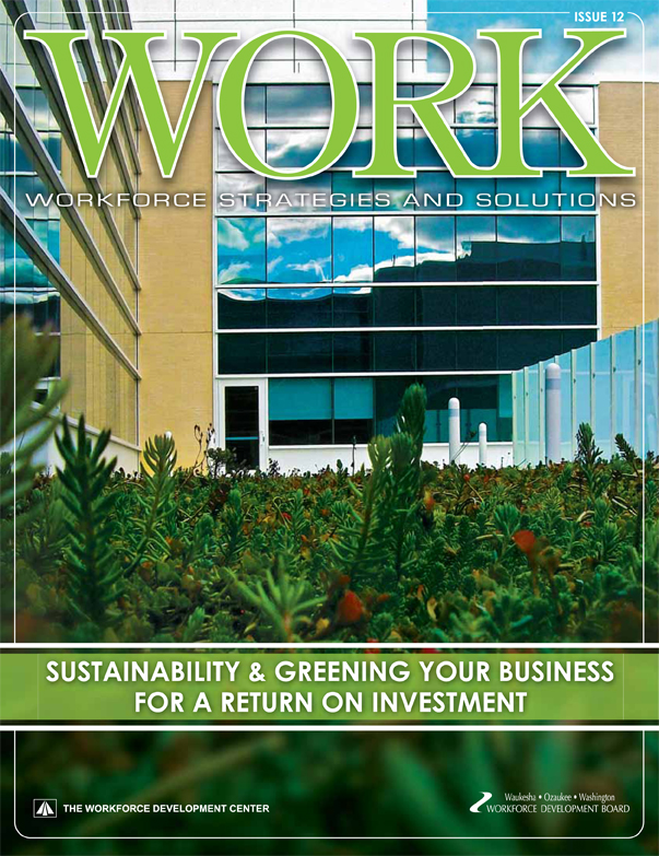 Waukesha- Ozaukee- Washington County Workforce Development WORK 12 publication won a 2012 American Graphic Design Award within the Environmental Graphics category.
