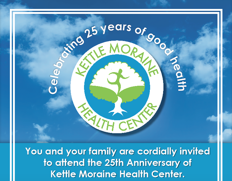 Kettle Moraine Health Center 25th Year Anniversary