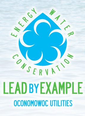 Oconomowoc Utilities Lead by Example Logo