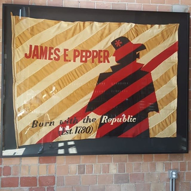 Touring the James E. Pepper Distillery in Lexington on opening day!  #bourbon #bourboncountry #whiskey #whisky #sharethelex