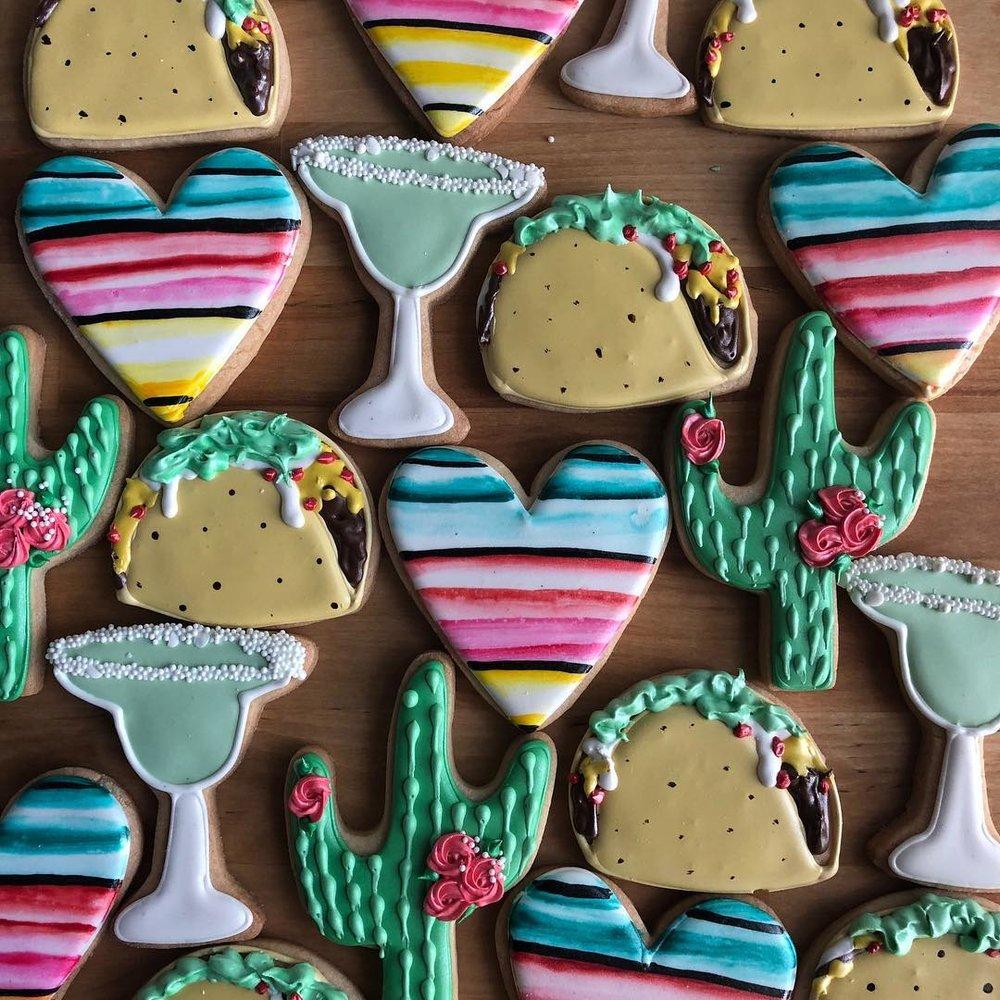 ECBG Cake Studio | Decorated Sugar Cookies | Chicago, IL