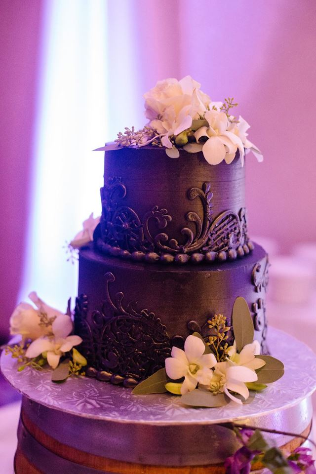 ECBG Cake + Pastry Studio - Black Wedding Cake.jpg
