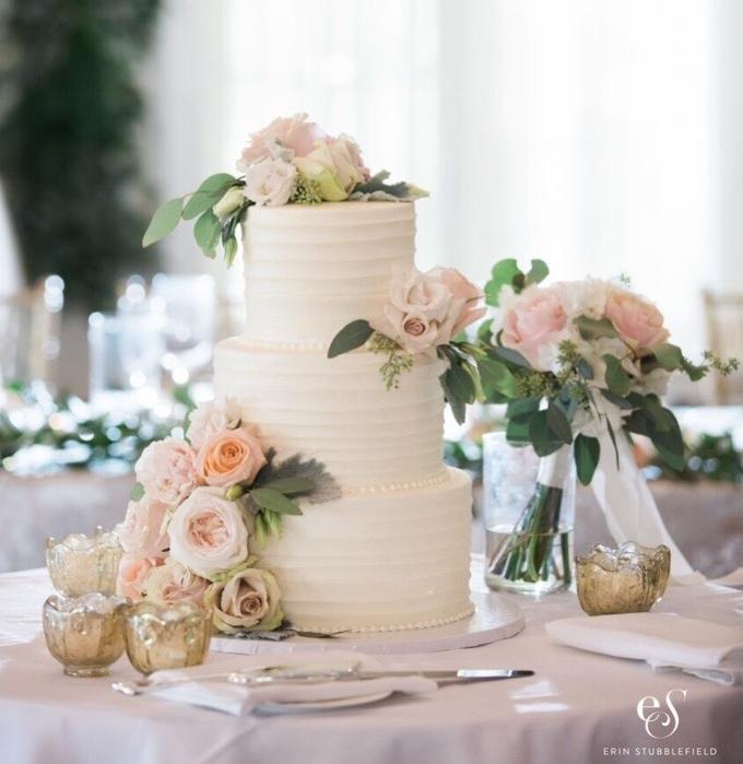 ECBG Cake Studio | Wedding Cake | Chicago, IL