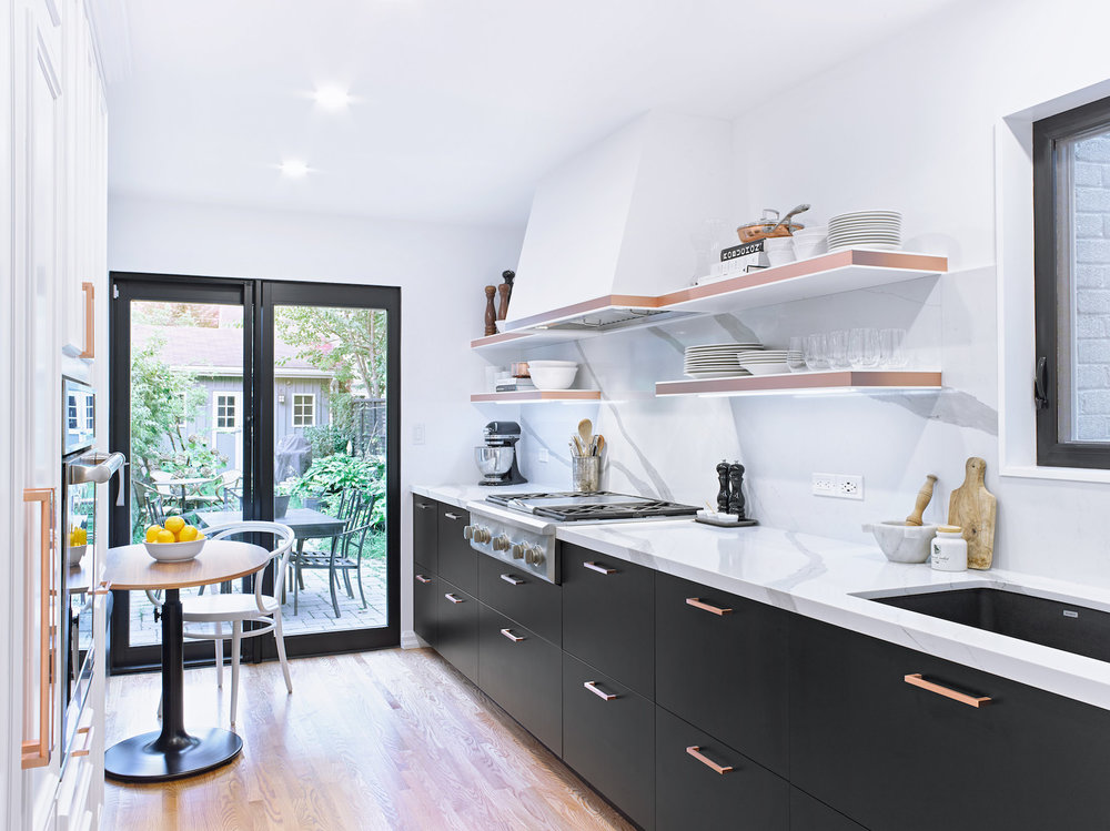 Parisian Style Kitchen by Linnea and Martin
