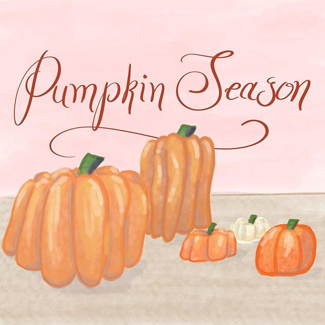 I love this time of year! I'm sad that I don't live close to a giant pumpkin patch this year... guess I'll just have to draw them instead!  #illustration #illustrationartists #illustrator #illustrations #drawing #drawings #drawingsketch #art #artistsoninstagram #artist #drawingoftheday #illustrationoftheday #pumpkin #pumpkinpatch #pumpkin🎃 #pumpkins #handlettering #procreate #procreateapp #fall #autumn #ilovefall #halloween #falldecor #autumndecor