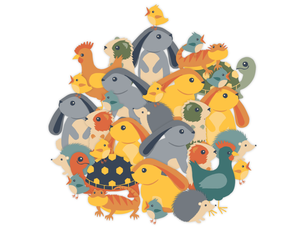 Double the Animals!