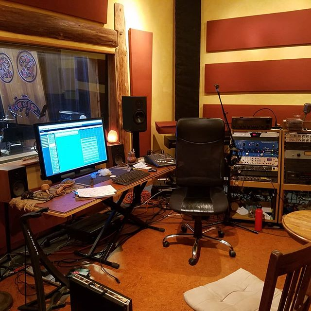 Back in my happy place at Deep Well Studio in Woodinville,  WA to finish the last 4 songs on my upcoming CD.  #jazz #producer #performer #composer #blues #localartist #musician #music #saxophone #keyboards #Seattle