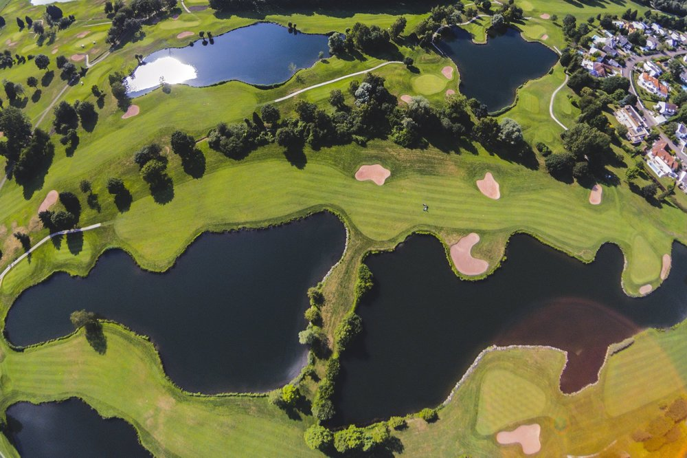 Aerial inspection - -Golf Courses-Agriculture-Construction