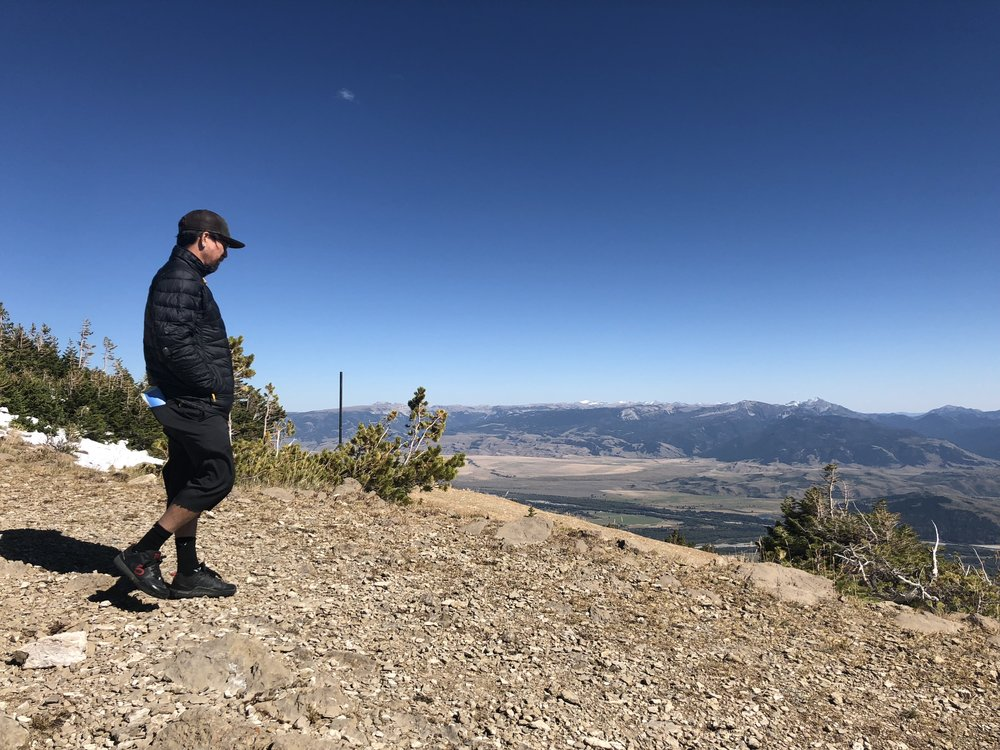 The Top of the Tetons