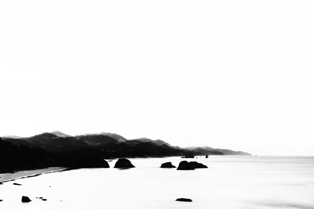 Seascape Photography by Mel Volkman Black And White Photography Beautiful Ocean Photo Print Oregon.png