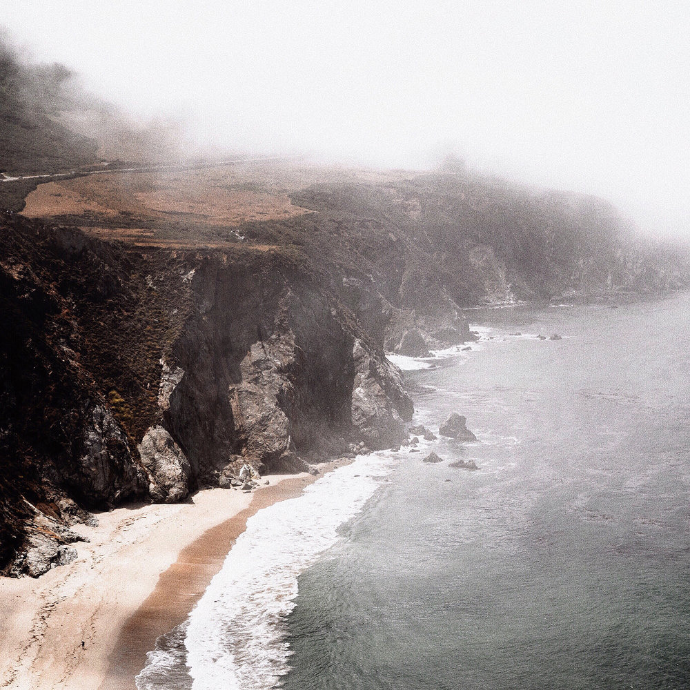 Moody Ocean Landscape Photography by Mel Volkman Beautiful Big Sur Photography 2.jpg