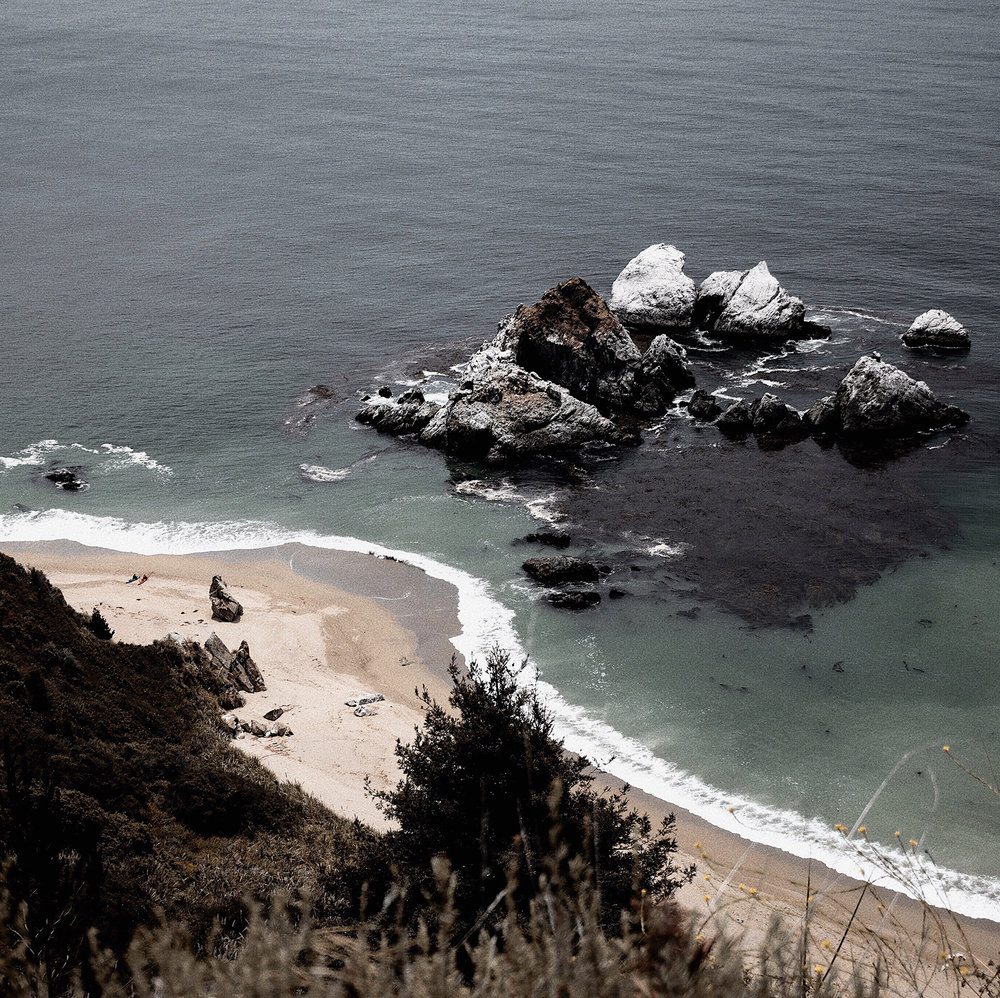 Moody Ocean Landscape Photography by Mel Volkman Beautiful Big Sur Photography.jpg