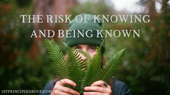 The risk of knowing and being known