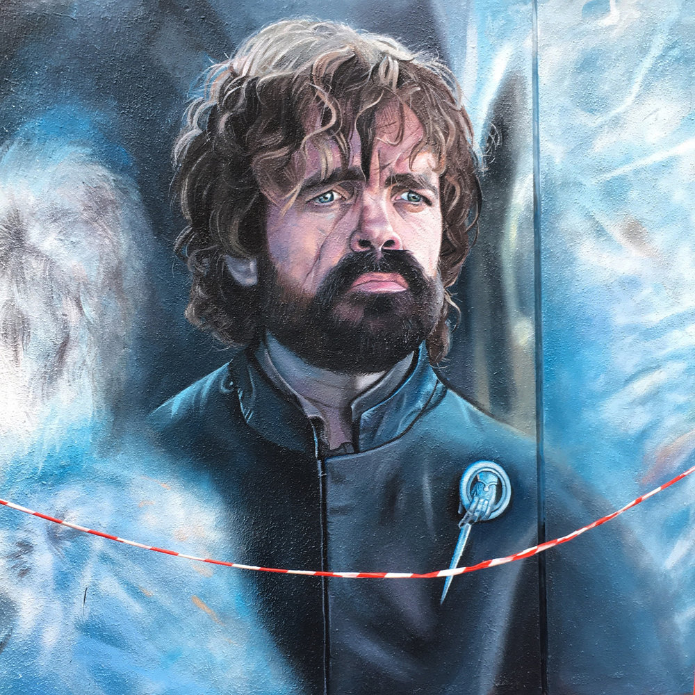 Tyrion Lannister portrait,  2017, Game of Thrones, Apparition Media.
